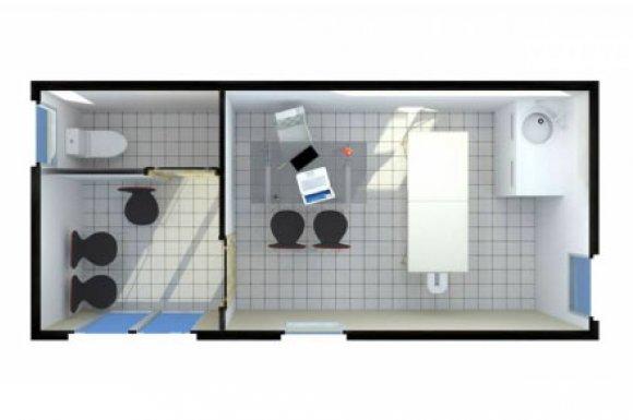 Construction studio cabinet vétérinaire salon toilettage Rhône-Alpes