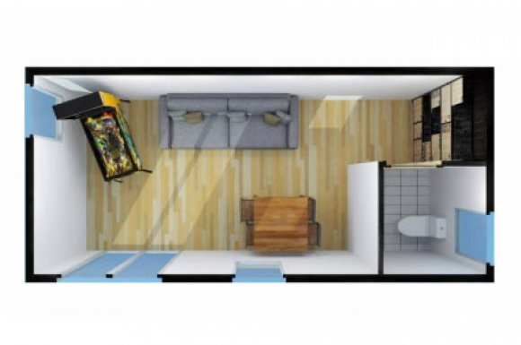 Construction studio salle jeux Rhône-Alpes