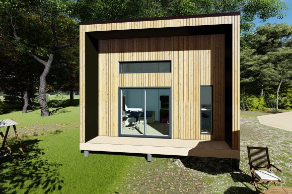 studio de jardin mezzanine 35m2 bordeaux