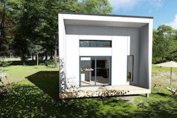 Studio de jardin mezzanine 35m2 paris