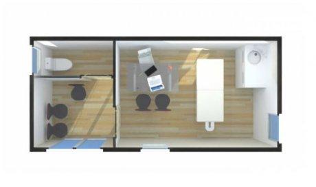 Construction studio cabinet paramédical Rhône-Alpes