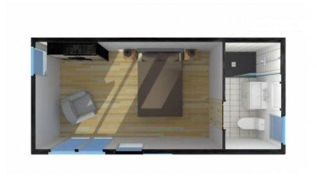 Construction studio chambre ami 2 personnes Rhône-Alpes