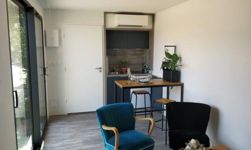 studio de jardin climatisé à lyon