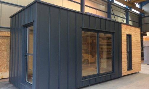 Studio de jardin construction usine Lyon